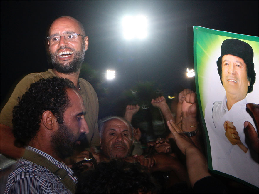 Interpol i MTK wzywają Saifa al-Islama, by się poddał