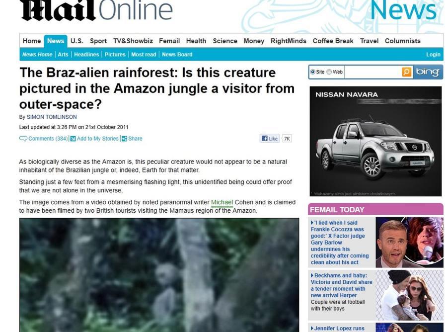 Kosmici w brazylijskiej dżungli