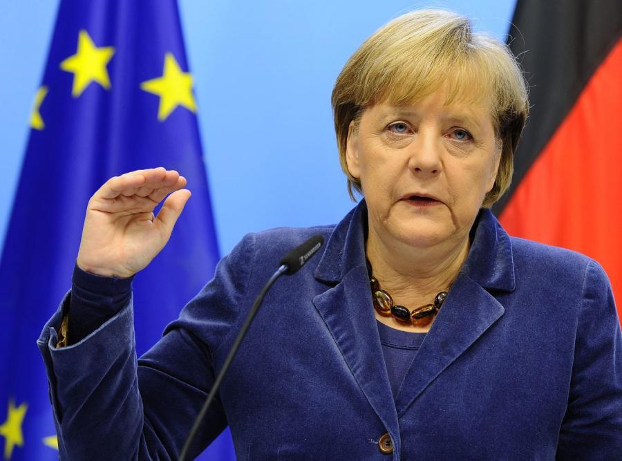 Angela Merkel na szczycie Unii w Brukseli