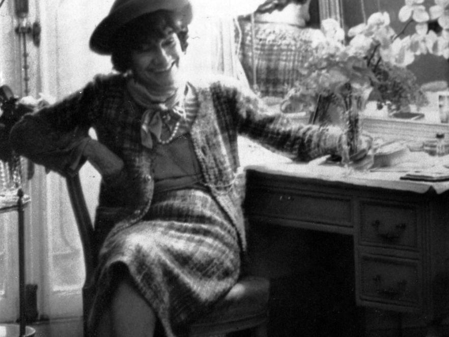 Coco Chanel w 1967 roku
