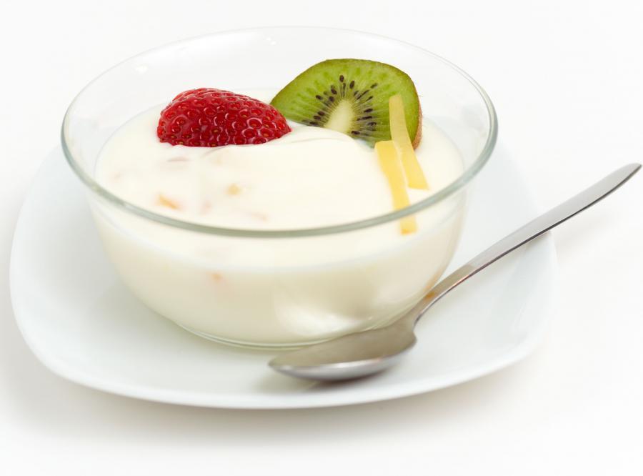 9. Jedz w szpitalu jogurt