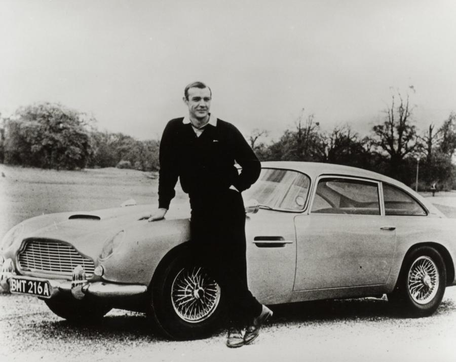 Aston martin DB5 i Sean Connery