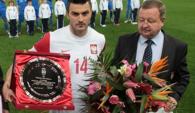 Michał Żewłakow i Zdzisław Kręcina