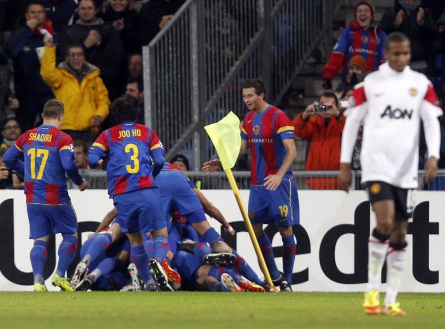 Manchester United odpadł z Ligi Mistrzów