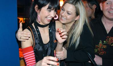 Anna Przybylska i Katarzyna Bujakiewicz świetnie czują się w swoim towarzystwie!