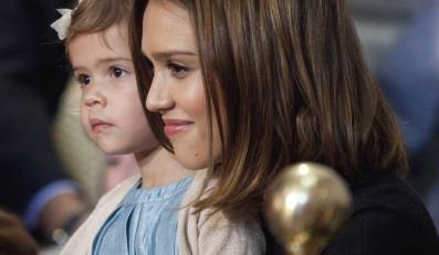 Jessica Alba z córeczką Honor Alba