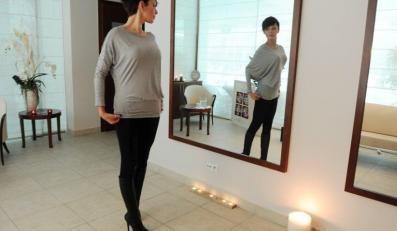 Dorota Gardias w salonie SPA.