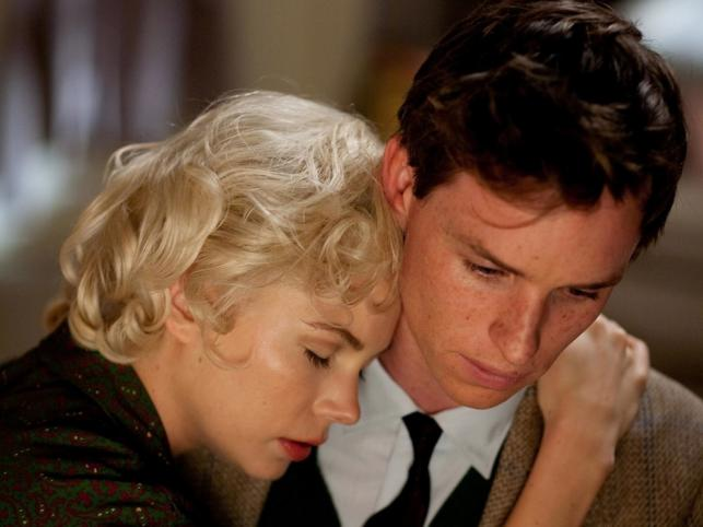 Michelle Williams i Eddie Redmayne