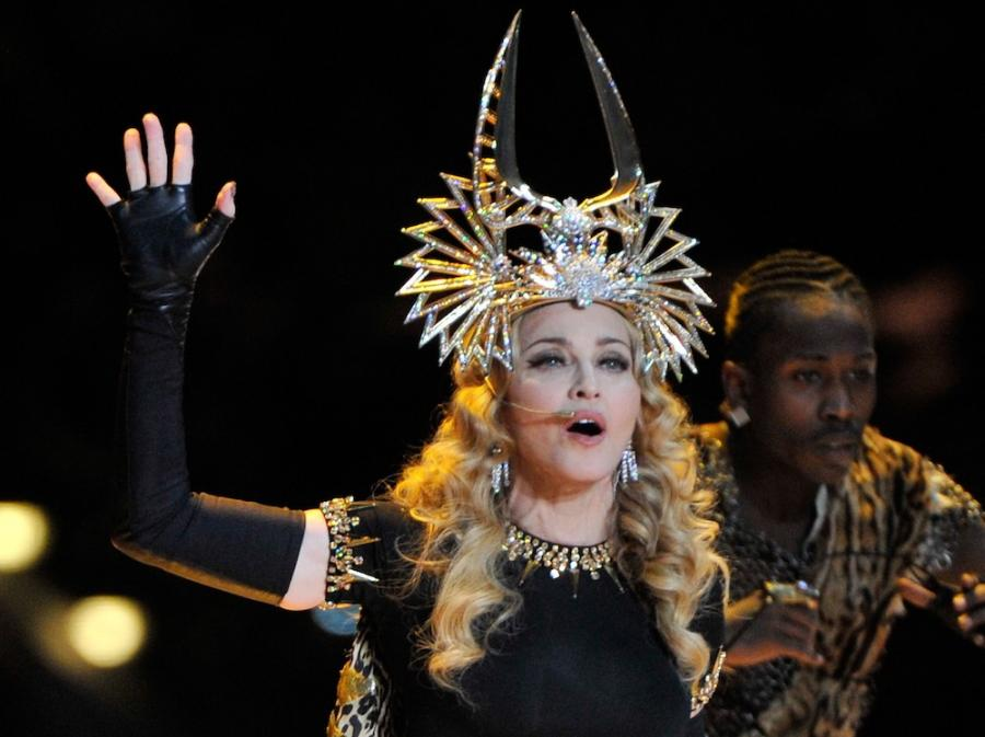 Madonna na Super Bowl