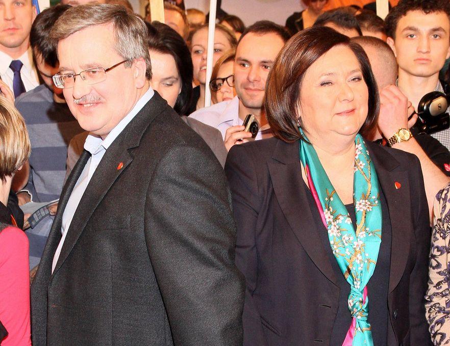 Anna Komorowska idzie na całość? Prezydentowa jak polityk