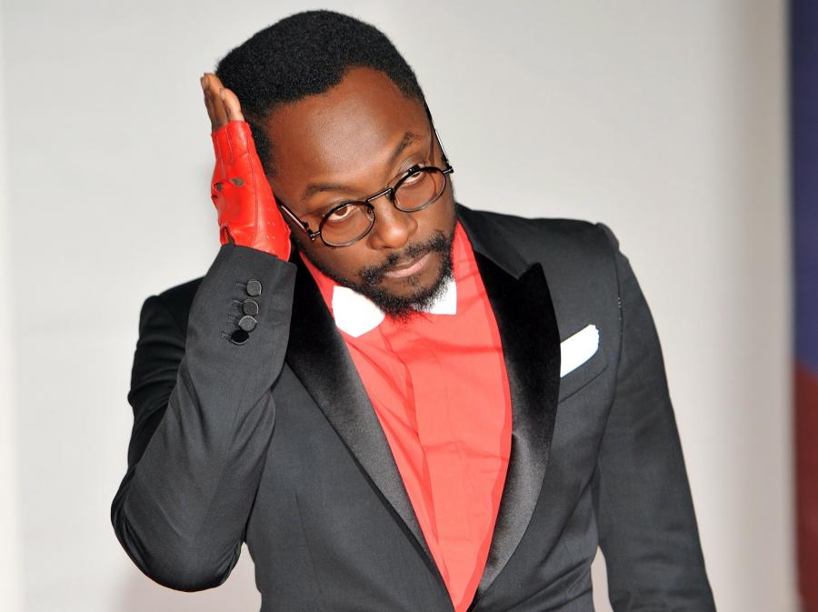 Will.I.Am na gali BRIT Awards
