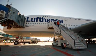 Samolot linii Lufthansa