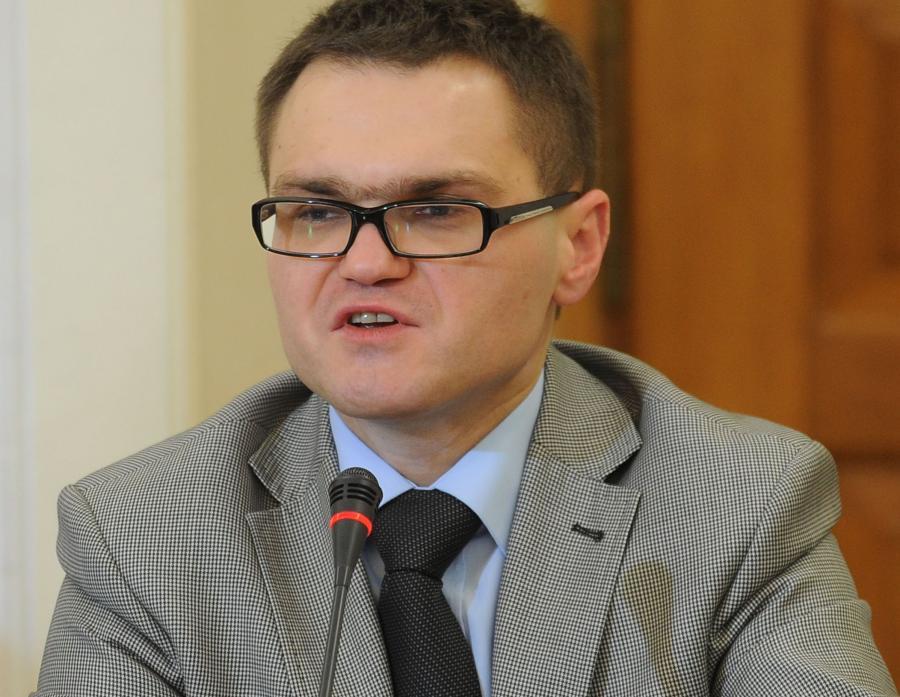 Rafał Rogalski był przy ekshumacji Przemysława Gosiewskiego