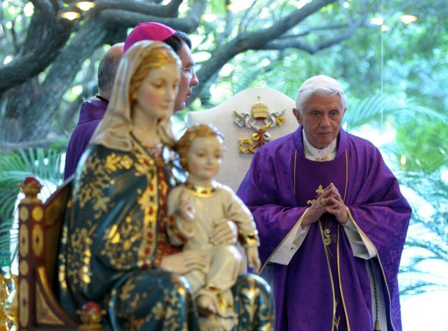 Papież Benedykt XVI w Meksyku
