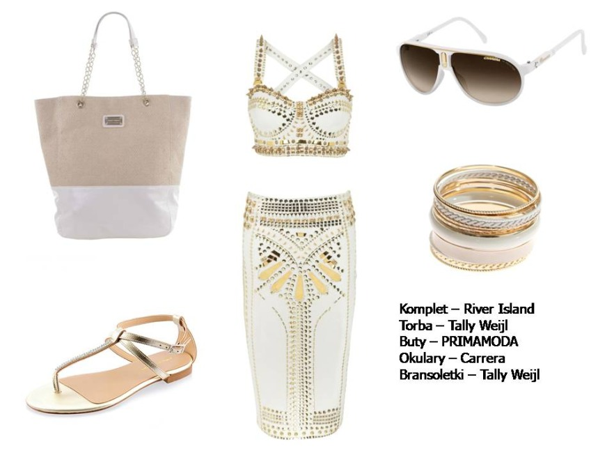 Morskie inspiracje - modne stylizacje na wiosnę 2012