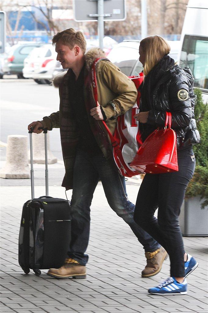 Caroline Wozniacki i Kuba Wesołowski