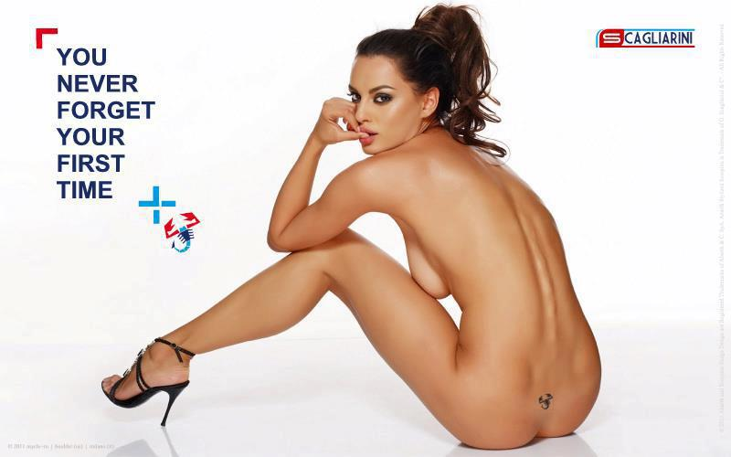Rumuńska modelka Catrinel Menghia