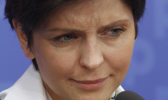 Joanna Mucha, minister sportu