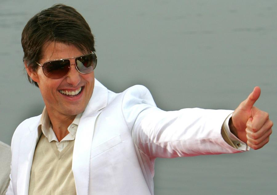 Tom Cruise, gwiazda Hollywood