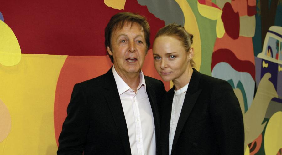Paul McCartney z córką Stellą – słynną projektantką