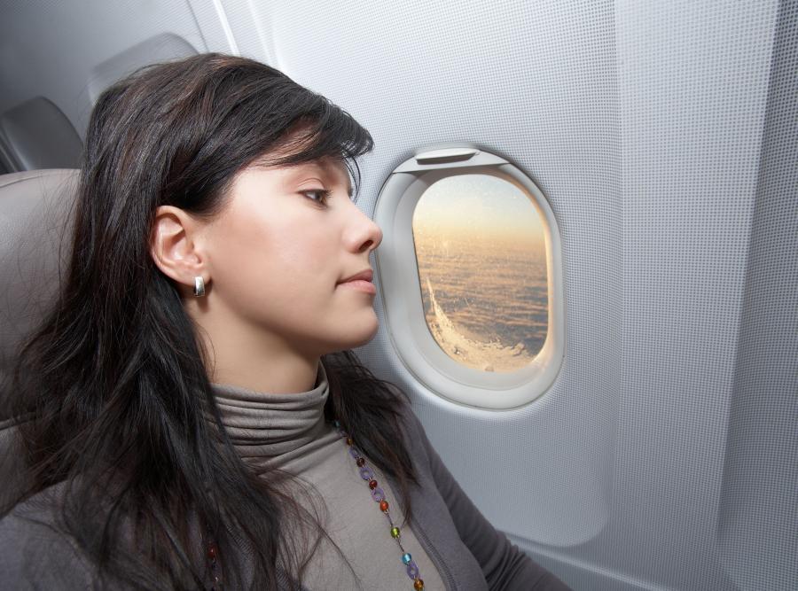 Miejsce w samolocie - zgodne z nastrojem