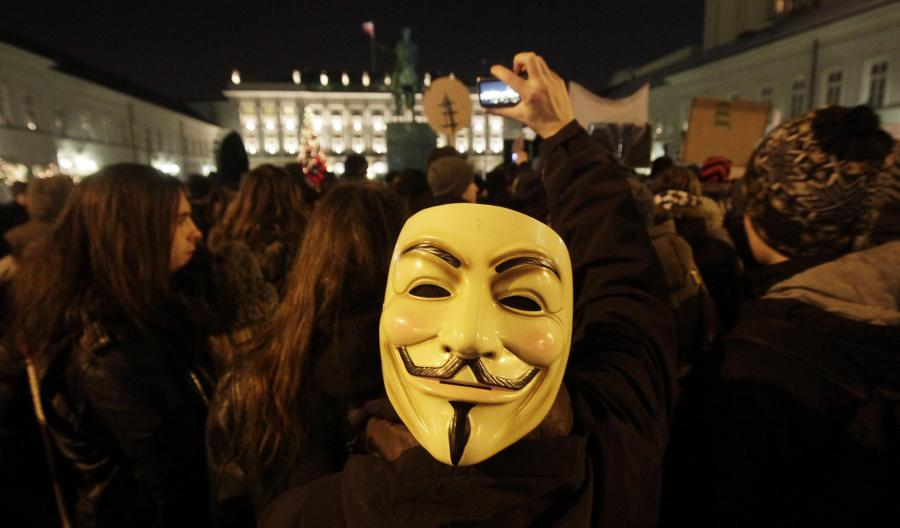 Protest przeciwko umowie ACTA