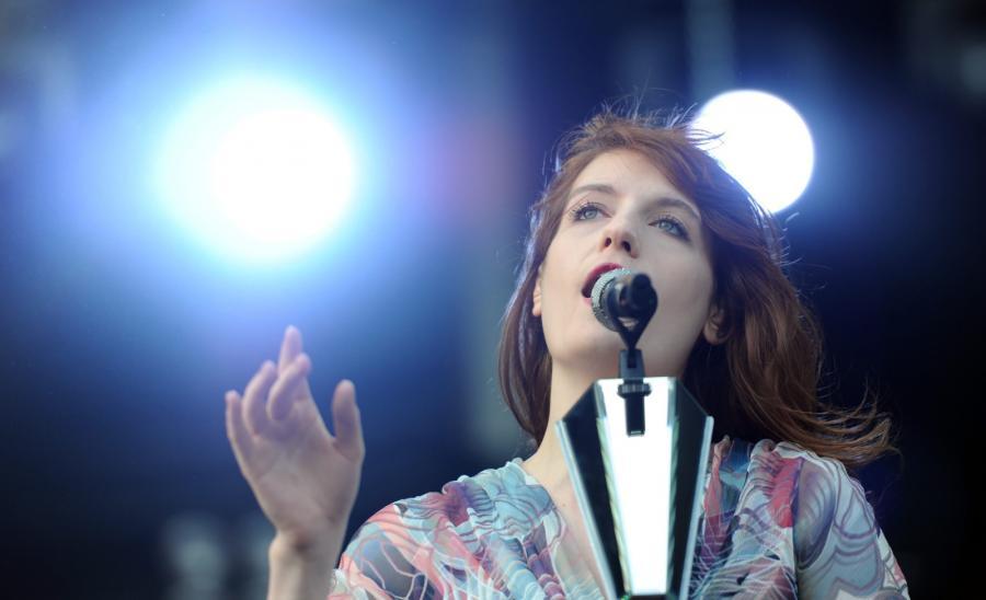 Florence Welch na Hurricane Festival w niemieckim Scheessel