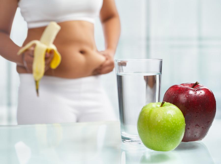Kobieta na diecie