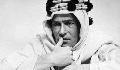 "Peter O'Toole w filmie ""Lawrence z Arabii""s"