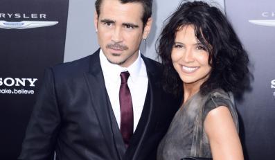 Colin Farrell z siostrą Claudine