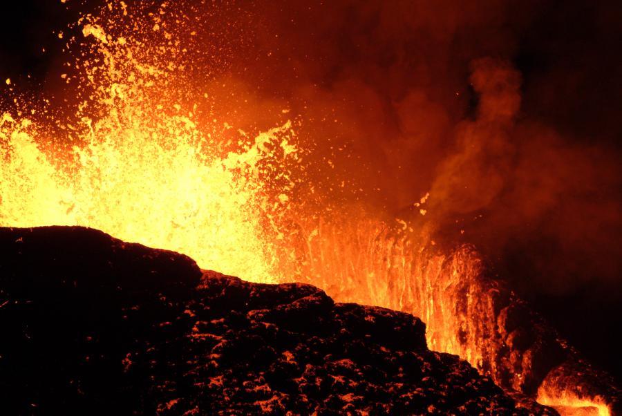 Eksplozja wulkanu