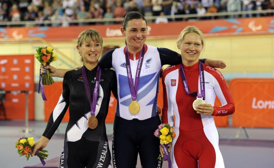 Srebrny medal Anny Harkowskiej w kolarstwie torowym