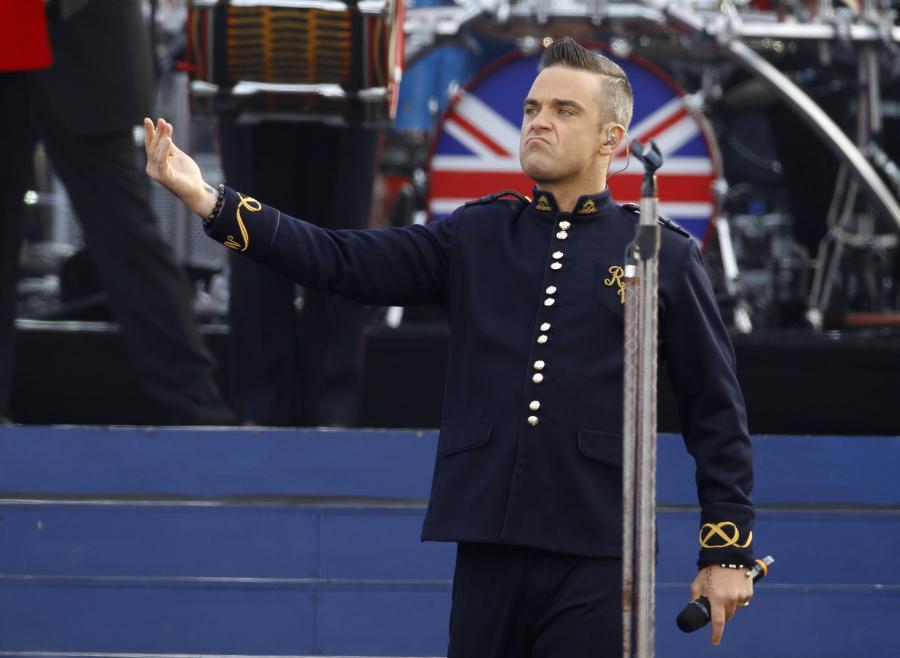 Krytyka napędza Robbiego Williamsa