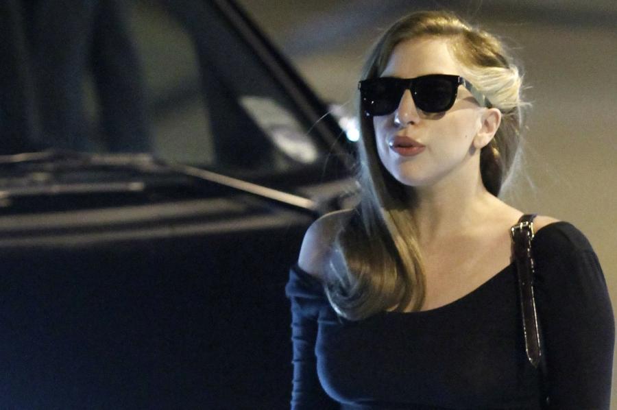 Lady GaGa jeszcze w starej fryzurze