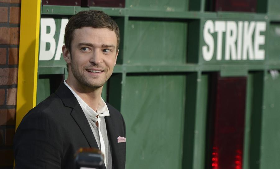 Justin Timberlake na premierze \