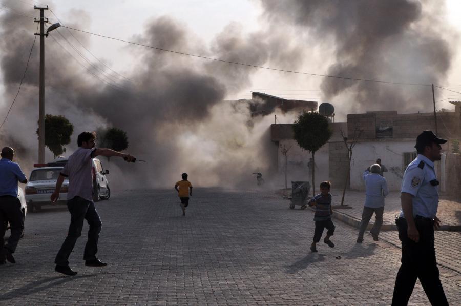 Syryjskie pociski spadły na tureckie miasto