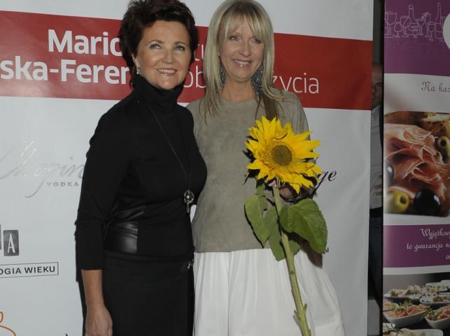 Jolanta Kwaśniewska i Mariola Bojarska-Ferenc