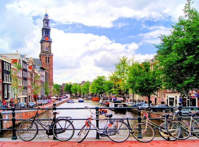Najlepsze kraje dla rowerzystów: Holandia