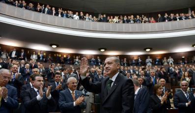 Premier Turcji Recep Tayyip Erdogan