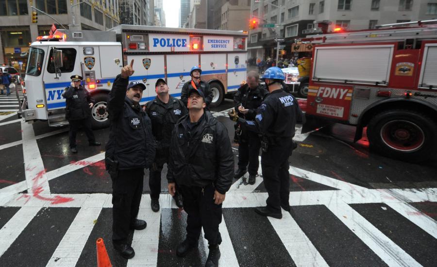 Policja na ulicach Nowego Jorku