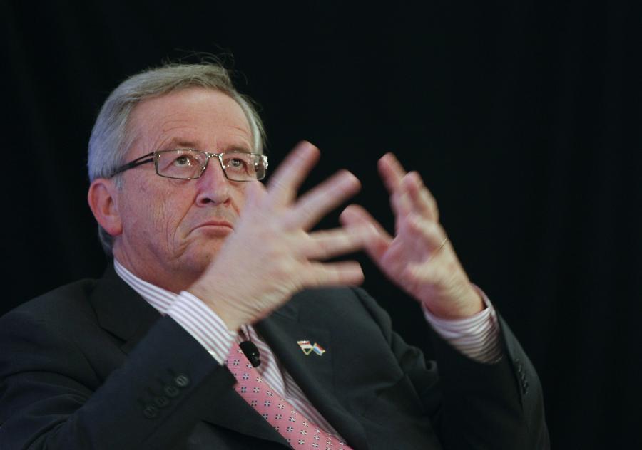 JEna Claude Juncker, lider eurostrefy