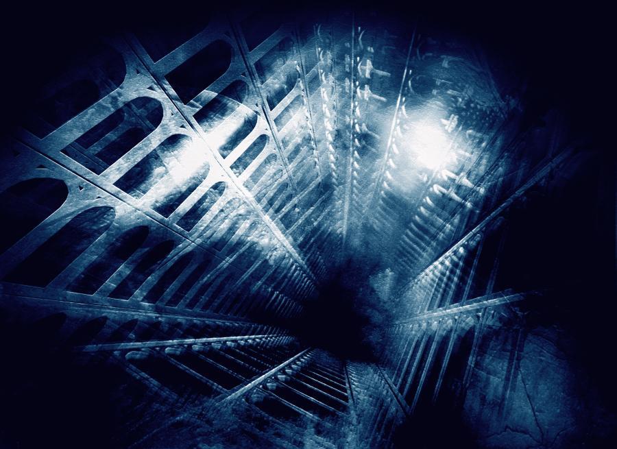 kopalnia korytarz
