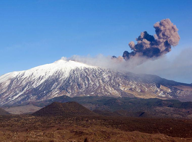 Aktywny wulkan