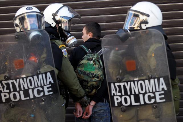 Zamieszki w Grecji