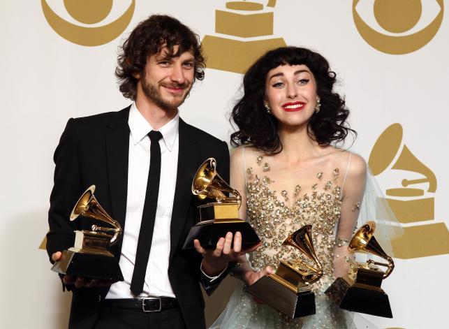 Grammy 2013 - Kimbra i Gotye