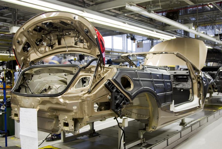 Opel cascada - fabryka w Gliwicach