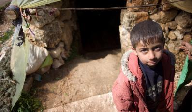 Syria - uchodźcy wewnętrzni