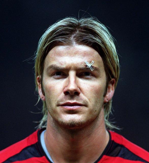 Wszystkie fryzury Davida Beckhama