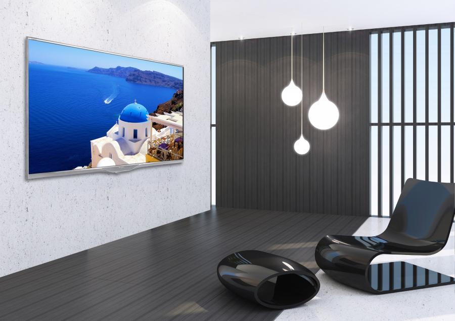 Nowy telewizor Sharp