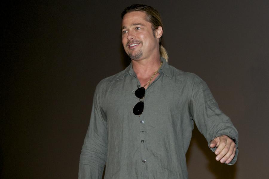 Brad Pitt urządził sobie tygodniową imprezę